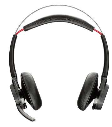 Poly B825 Voyager Focus UC Duo ANC Bluetooth NC Headset inkl. BT600 USB Dongle mit Active Noice Canc